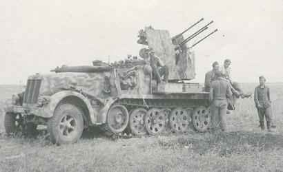 Sd.Kfz.7/1 2cm Flak Vierl. Carson 776525 500776525