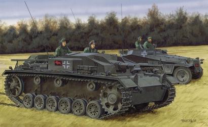 1:35 StuG.III Ausf.E (Smart Kit) Carson 776688 500776688