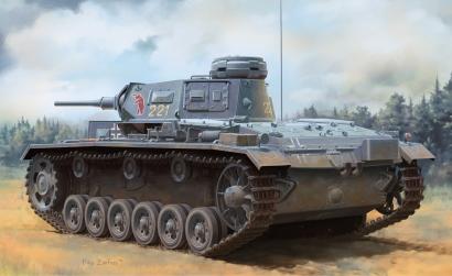 1:35 Pz.Kpfw.III (T) Ausf.H Carson 776775 500776775