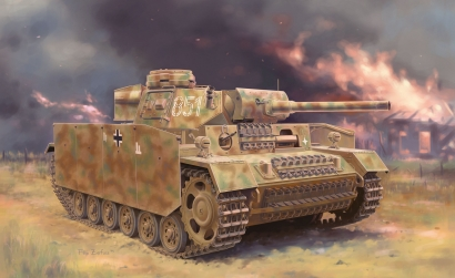 1:35 Pz.Kpfw.III (FI) Ausf.M w/Schürze Carson 776776 500776776