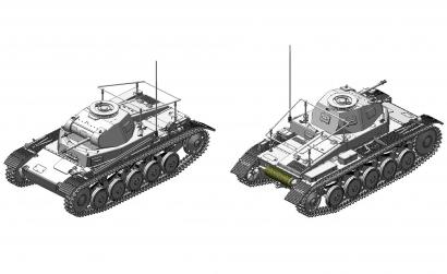 1:35 Pz.Beob.Wg.II Ausf.A-C Carson 776812 500776812