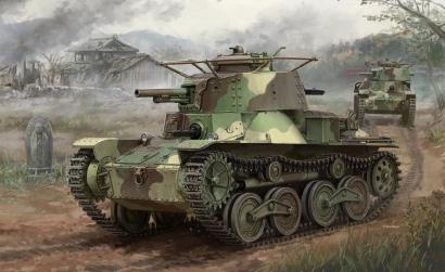 1:35 IJA Type 4 Light Tank Ke-Nu Carson 776854 500776854