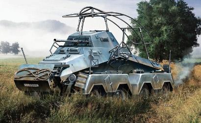1:72 SD.KFZ.232 Schwerer Panzerspähwagen Carson 777429 500777429