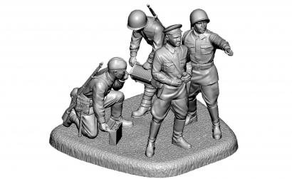 1:72 Soviet HQ WWII Carson 786132 500786132