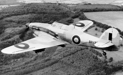 1:144 Britische Kämpfer Hurricane Mk-1 Carson 786173 500786173