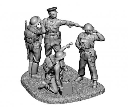 1:72 British HQ WWII Carson 786174 500786174