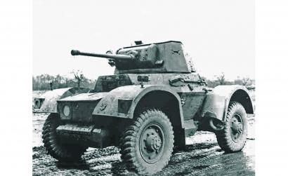 1:100 Britischer Panzerwagen Daimler Mk1 Carson 786229 500786229