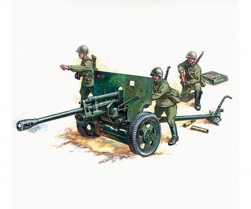 1:72 Zis - 3 Soviet Gun Carson 786253 500786253