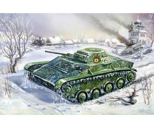 1:100 T-60 Soviet Light Tank Carson 786258 500786258