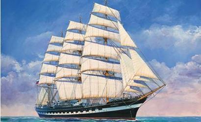 1:200 Krusenstern Sailing Ship Carson 789045 500789045