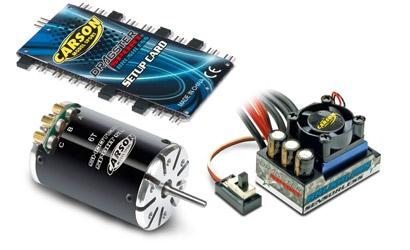 Brushless-Set Dragster Pro 6 T, black Carson 906114 500906114