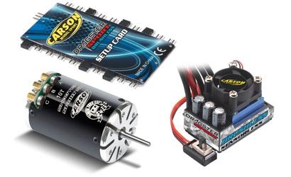Brushless-Set Dragster Pro 10 T, black Carson 906115 500906115