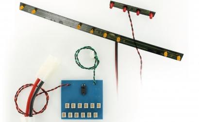 1:14 LED-Kit Grand Hauler (8+4) vo/hi Carson 907254 500907254
