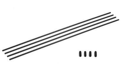 Antenna Tube Black 4Pcs. Carson 908115