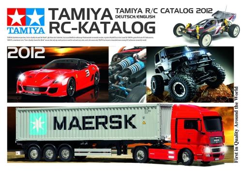 Tamiya RC Katalog 2012 DE/EN Carson 992012 500992012