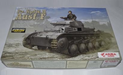 1:24 Dt. Pz.Kpfw . II Ausf. F Carson 1024001 501024001