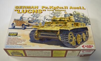 1:35 Ger. PzKpfw.II Ausf.L LUCHS (Spät) Carson 1035001 501035001