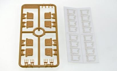1:35 WWII Kanister Set B (Deutsch) Carson 1035002 501035002