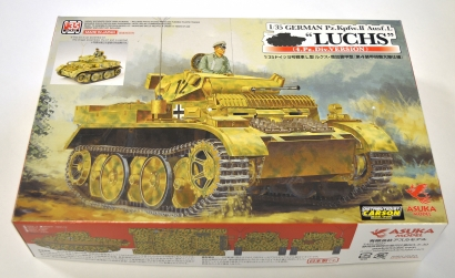1:35 Pz.Kpfw.II Ausf.L LUCHS 4.PzDiv. Carson 1035006 501035006