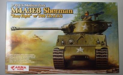 1:35 US M4A3E8 SHERMAN Easy Eight/T66 Carson 1035020 501035020