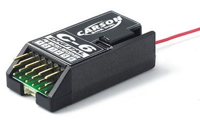 Mini-Empf.C6 35 MHz digital Carson 501504