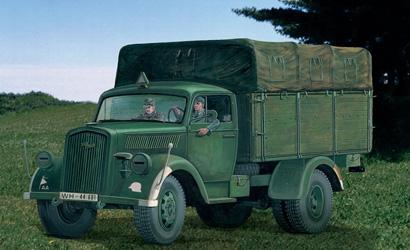 1:35 Opel Blitz Deut. Truck 3t Type S Carson 216 510000216