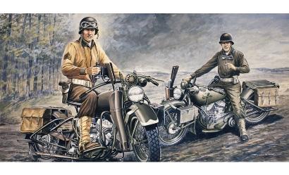 1:35 U.S. Motorräder WWII Carson 322 510000322
