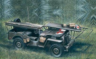 1:35 1/4 Ton 4x4 Krankenwagen Jeep Carson 326 510000326