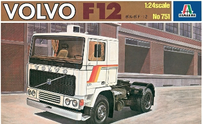 1:24 Volvo F12 (Vintage Collection) Carson 751 510000751