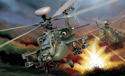 1:48 WAH-64 D Apache Longbow Carson 863 510000863