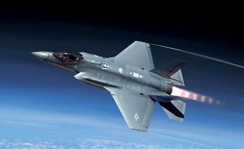 1:32 Lockheed F-35A Lighting II Carson 2506 510002506