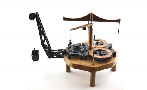 IT L.DaVinci Flying Pendulum Clock Carson 3111 510003111