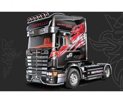 1:24 Scania 164L Topclass Carson 3922 510003922