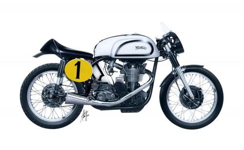 1:9 Norton Manx 500cc 1951 Carson 4602 510004602