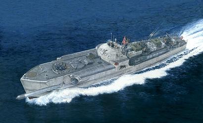 1:35 Schnellboot Typ S-100 Prem. Edition Carson 5603 510005603