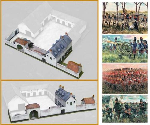 1:72 Battle at La Haye Sainte Carson 6111 510006111