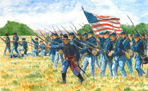 1:72 Union Infantry (Amer. Civil War) Carson 6177 510006177
