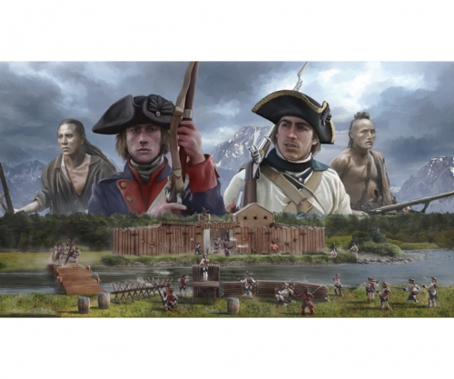 1:72 French and Indian War 1754-1763 Carson 6180 510006180
