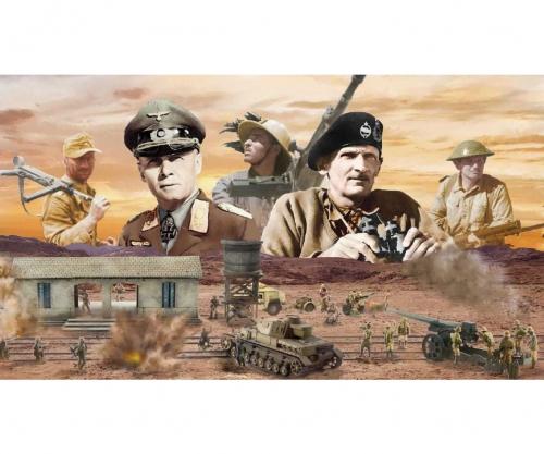 1:72 WWII: El Alamein Battle Railway St. Carson 6181 510006181