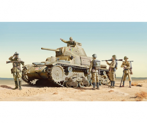1:35 M14/41 with Italian Infantry Carson 6543 510006543