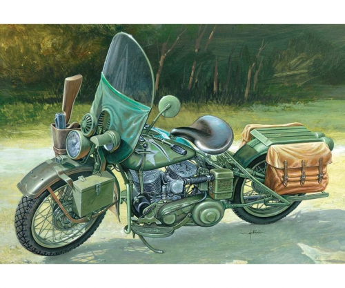 1:9 WLA 750 US Military Motorcycles Carson 7401 510007401