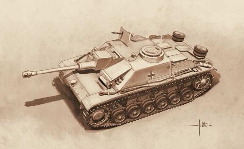1:72 Sd.Kfz 142/1 Sturmgesch.III Carson 7522 510007522