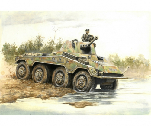 1:56/28mm Dt. SdKfz. 234/2 Puma Carson 15653 510015653