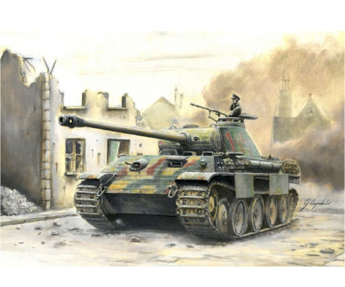 1:56/28mm Dt. SdKfz.171 Panther Ausf.A Carson 15752 510015752