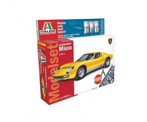1:24 Lamborghini Miura Carson 72002 510072002