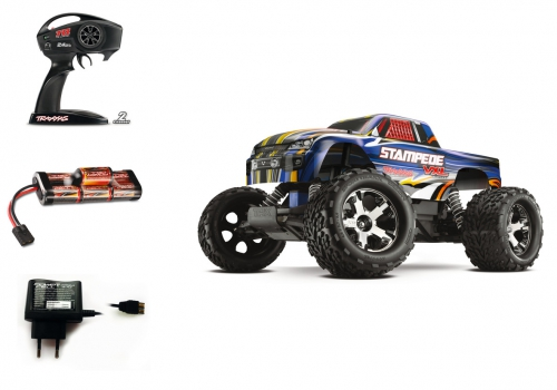 1:10 StampedeVXL RTR 2WD 2.4GHz MonsterT Carson 3607 520003607