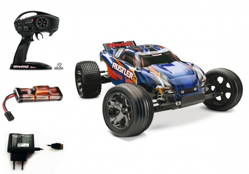 1:10 Rustler VXL RTR 2WD 2.4GHz StadiumT Carson 3707 520003707