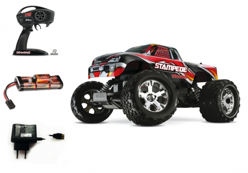 1:10 Stampede RTR 2WD 27MHz Monster Truc Carson 36054 520036054