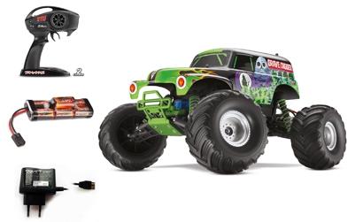 1:10 GraveDigger RTR 2WD 27MHz MonsterTr Carson 103604 520103604