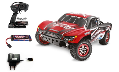 1:10 SlashUlt. VXL RTR 4WD 2.4GHz ShortC Carson 106807 520106807